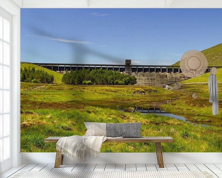Sfeerimpressie behang:  Gatlascarnoch Dam van Babetts Bildergalerie