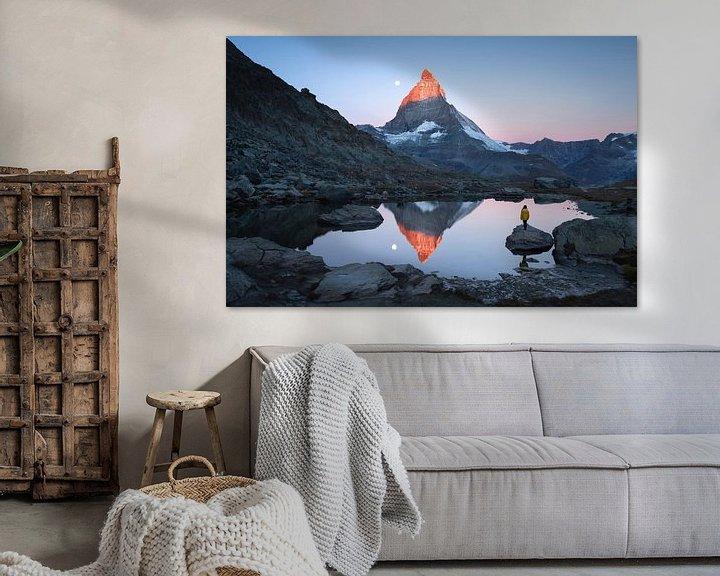 Impression: Riffelsee sunrise sur Sander van der Werf