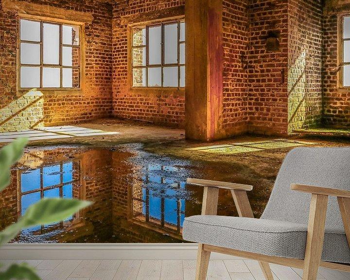 Beispiel fototapete: Verlassene Fabrik in Belgien von Patrick Löbler