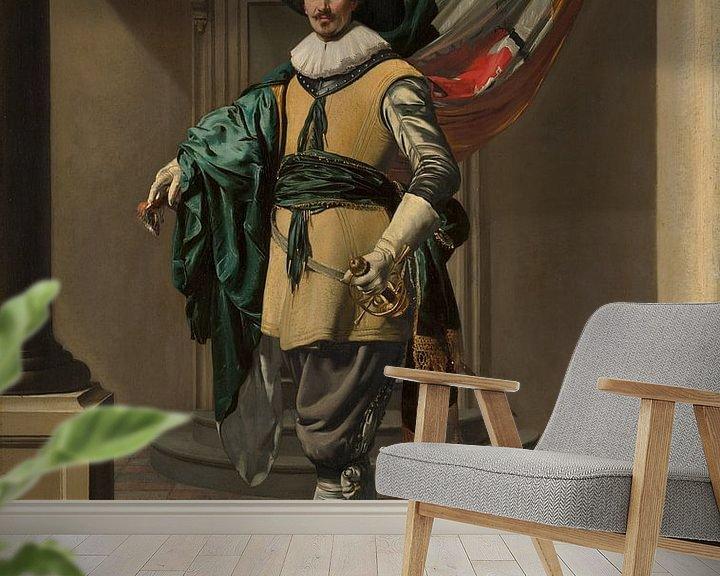 Beispiel fototapete: Porträt von Loef Vredericx, Thomas de Keyser