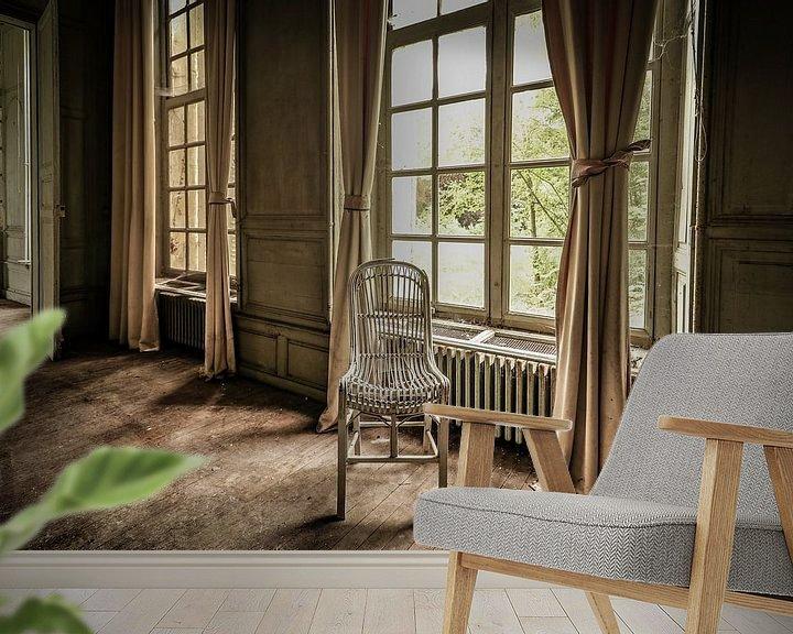 Beispiel fototapete: Verlassenes Chateau Martin Pecheur, Frankreich von Patrick Löbler