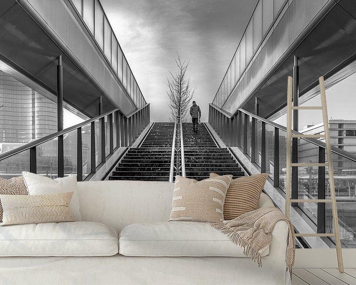 Sfeerimpressie behang: Naar boven van Henri Boer Fotografie
