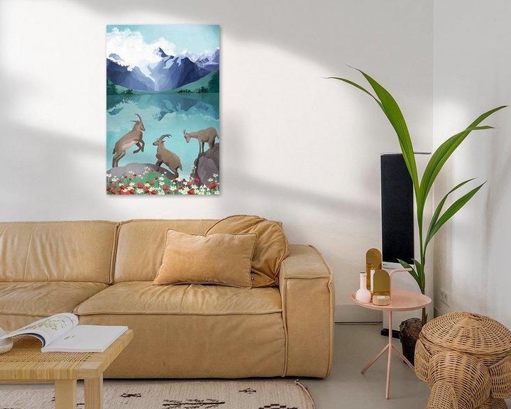 Beispiel: The hills are alive von Goed Blauw