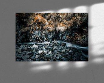 Tiny river in Iceland van Pascal Deckarm