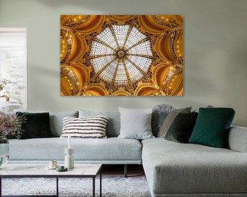 Decke von Galeries Lafayette Paris von Kelly van den Brande