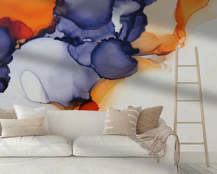 Sfeerimpressie behang: Creation van Carla Mesken-Dijkhoff