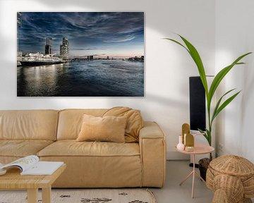 Rotterdam Skyline in HDR