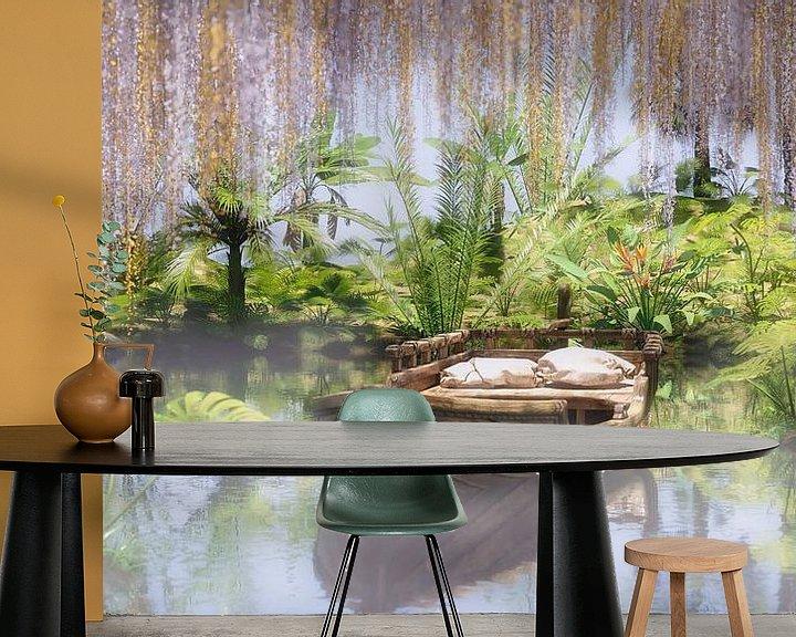 Beispiel fototapete: Secret River von Wybe van der Veen