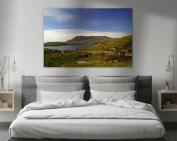 Landschap bij Ullapool in Schotland van Babetts Bildergalerie