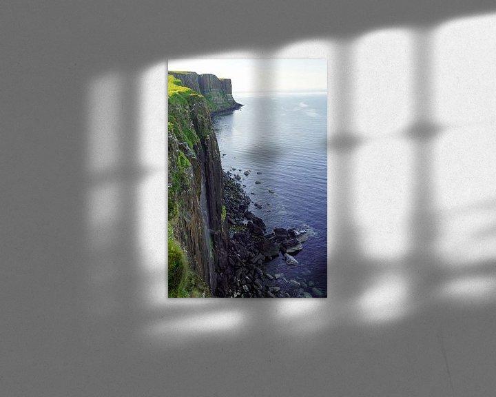 Impression: Creag à Fheilidh (kilt rock) sur Babetts Bildergalerie