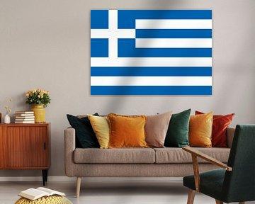 Griekse vlag van De Vlaggenshop