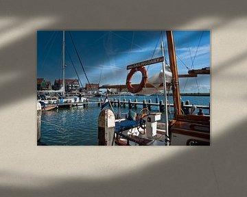 Maritimes Flair im Fischerdorf Volendam von Silva Wischeropp