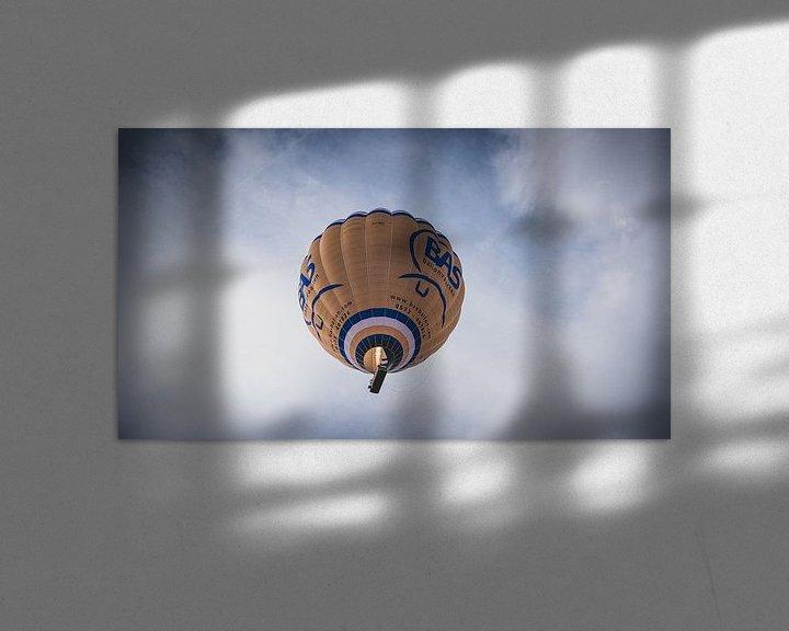 Sfeerimpressie: Luchtballon op een mooie zondag van Nauwal Rian