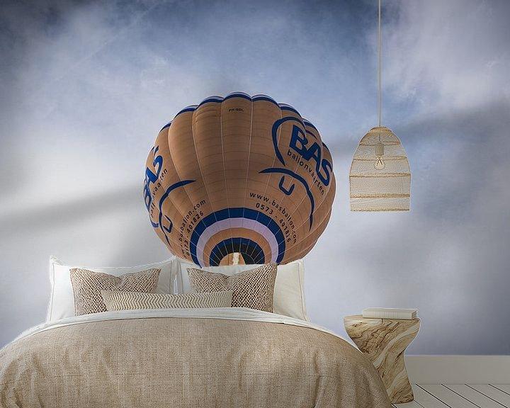 Sfeerimpressie behang: Luchtballon op een mooie zondag van Nauwal Rian