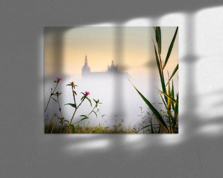 Sfeerimpressie: Sunrise Church in the Mist van Ruud Peters