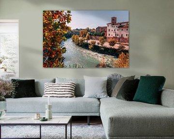 Rome autumn van Björn van den Berg