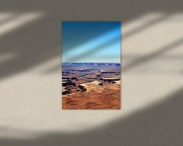Greenriver uitzicht in Canyonlands van Gerben Tiemens