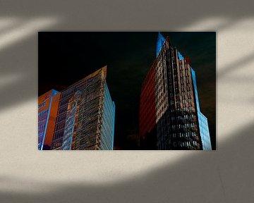Eindruck vom Potsdammer Platz in Berlin von Hanneke Luit