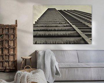 Perspectief van een toren in de Barbican von Dennis Morshuis