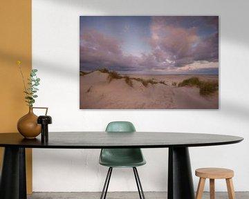 Zonsopgang strand  Schiermonnikoog van Margreet Frowijn