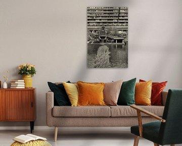 Foto van de binnenplaats in de Barbican von Dennis Morshuis