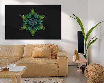 Geometrisch bloem van ymkje veenstra