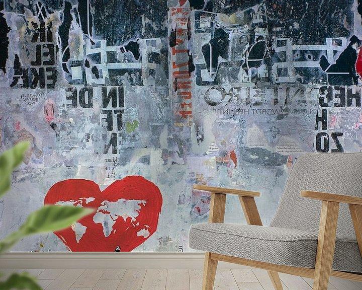 Sfeerimpressie behang: WILD WORLD van db Waterman