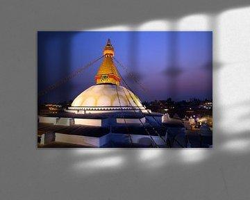 Stupa von Botnath von Gerhard Albicker