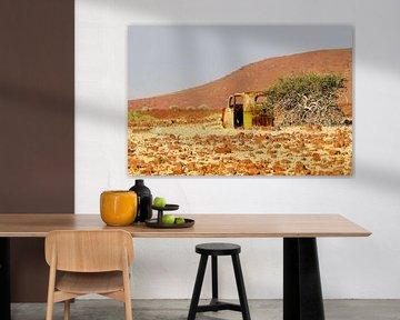 Schrott in Namibia van Britta Kärcher