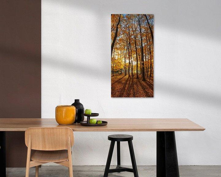 Sfeerimpressie: Herfst op Texel /  Autumn on Texel. van Justin Sinner Pictures ( Fotograaf op Texel)