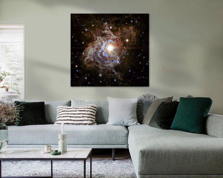 Sfeerimpressie: Hubble Telescope foto,s van NASA van Brian Morgan