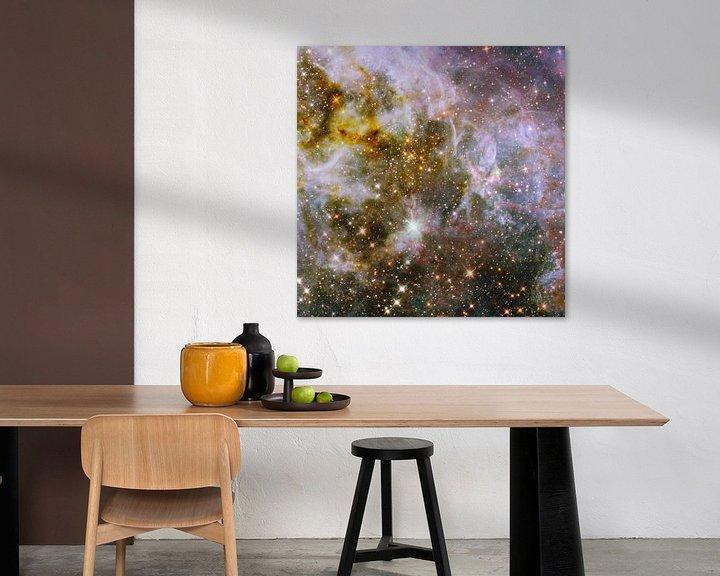 Sfeerimpressie: Hubble telescoop foto,s van NASA van Brian Morgan