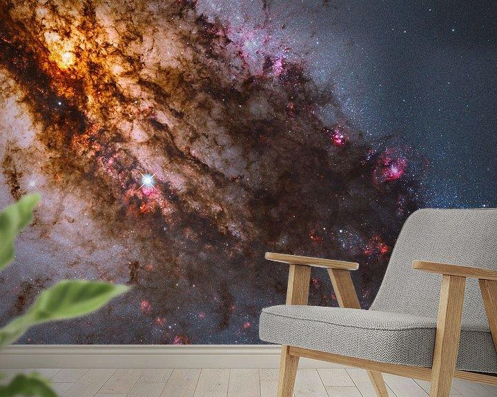 Sfeerimpressie behang: Hubble telescope foto,s van NASA van Brian Morgan