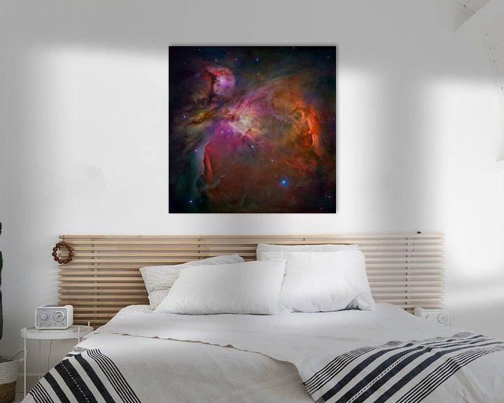 Sfeerimpressie: Hubble Telescope ruimte foto,s van NASA van Brian Morgan
