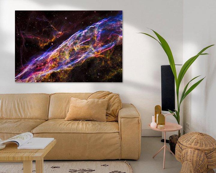 Sfeerimpressie: Hubble telescoop ruimte foto,s van NASA van Brian Morgan