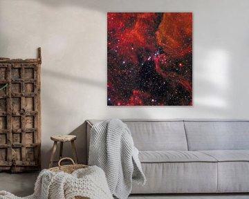 Hubble telescoop ruimte foto van NASA van Brian Morgan
