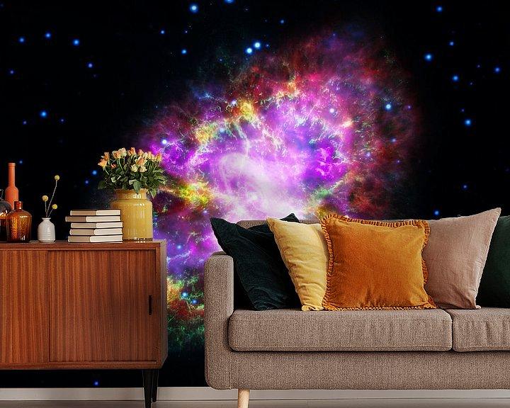 Sfeerimpressie behang: NASA Hubble ruimte foto van Brian Morgan