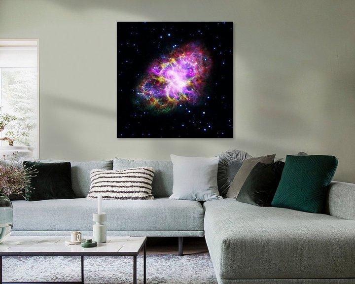 Sfeerimpressie: NASA Hubble ruimte foto van Brian Morgan