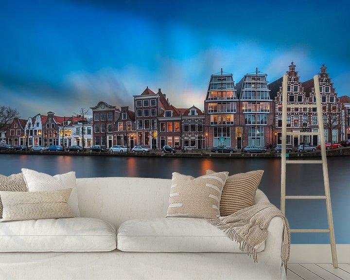 Beispiel fototapete: Haarlemse grachtenpanden von Dennisart Fotografie