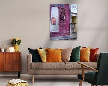 zomaar een deur in Frankrijk van Mirjam van Ginkel