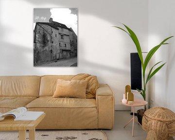 Op en in elkaar, zwart en wit van Mirjam van Ginkel