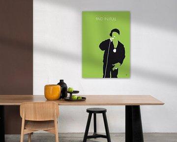 No136 MY EricBandRakim Minimal Music poster von Chungkong Art