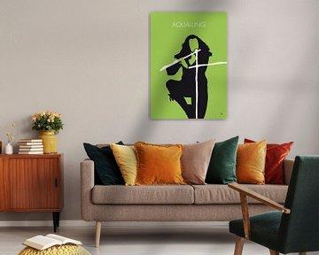 No146 MY IAN ANDERSON Minimal Music poster van Chungkong Art