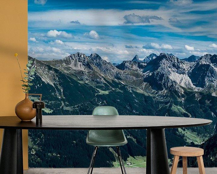 Impression: Bergtoppen Oostenrijkse alpen sur Ineke Huizing