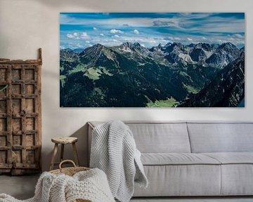 Bergtoppen Oostenrijkse alpen von Ineke Huizing