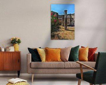 Ruïne in Pompeï van Dennis Morshuis