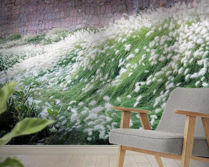 Beispiel fototapete: Golven van gras en zachtheid von Martijn Koevoets