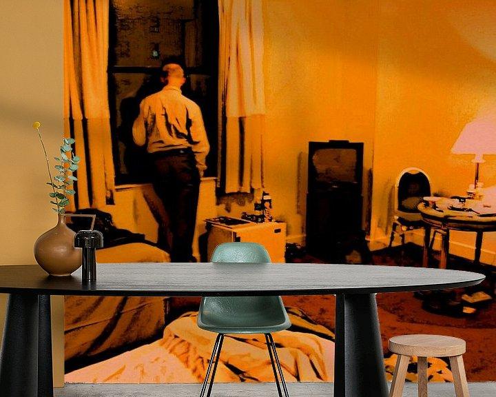 Beispiel fototapete: Einsam in New York von Benedikt Amrhein
