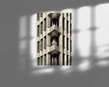 Edificio Beatriz in Madrid van Dennis Morshuis