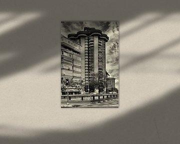 Torres Blancas in Madrid von Dennis Morshuis